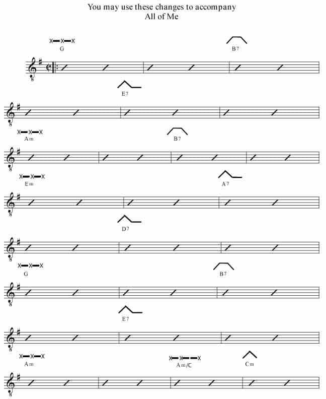 Chord Change Formula 7l Rockmaster Songbook